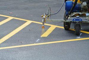 traffic marking, line markers edmonton, line painters