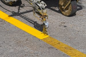 line marking / line painting